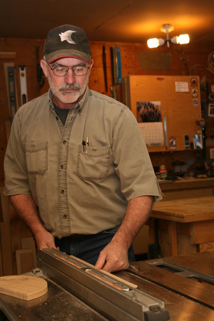 Mantracker, Terry Grant, interview, carpenter, carpentry