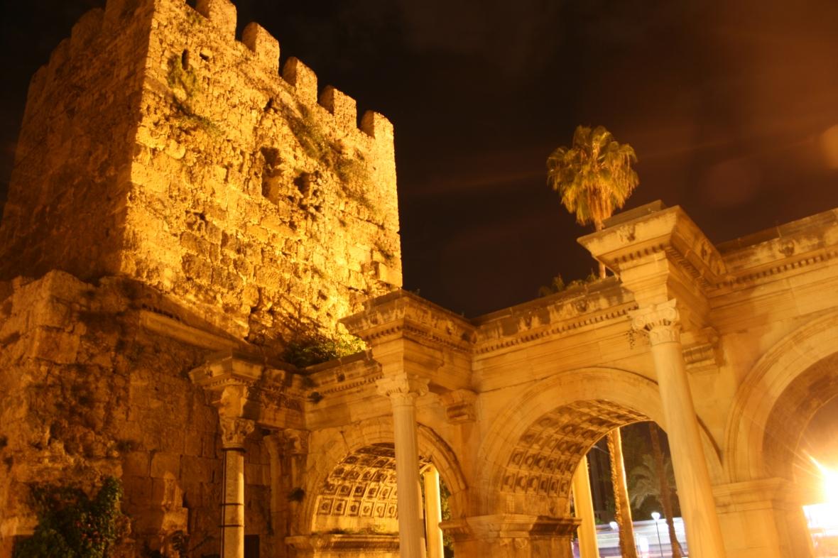 Hadrian, Gate, Antalya, Turkey, photos, travel photos