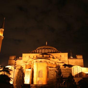 Istanbul photography, Hagia Sophia, Aya Sophia, night, Istanbul, Turkey