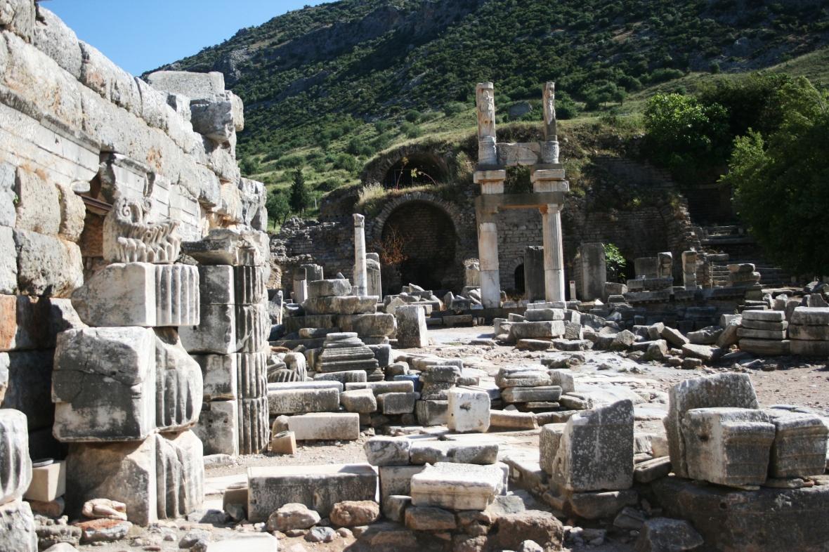 Ruins of Ephesus, Ephesus, Turkey, travel photography, travel photos