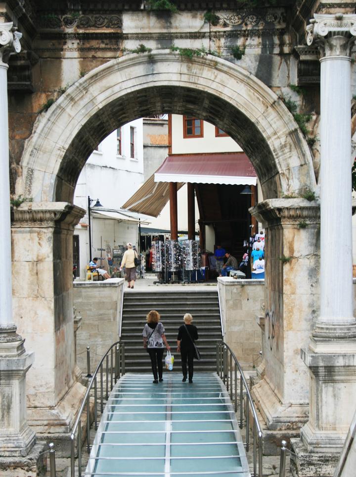 Hadrians Gate, Antalya, Turkey, Antalya Turkey, Turkey travel photography