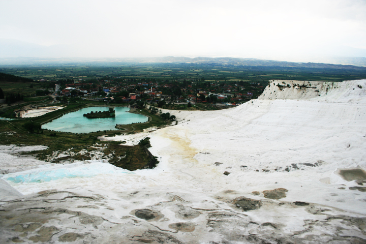 Cotton Castle, Pamukkale, Turkey
