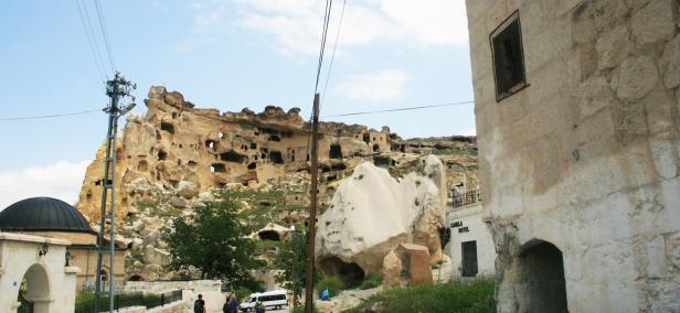 Cavusin, Turkey, Cavusin Village, Cappadocia, travel photography, travel photos