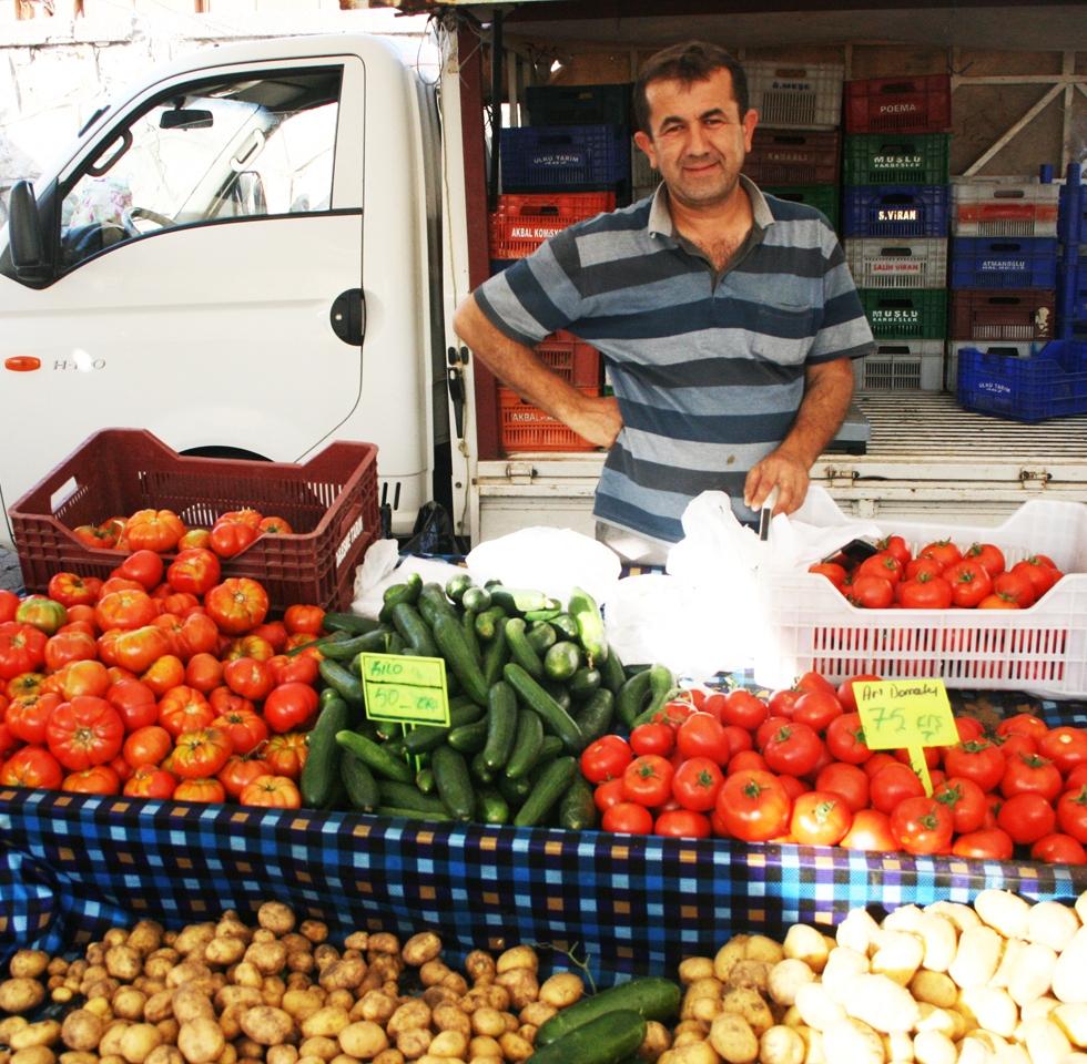 Fethiye Market, Turkey