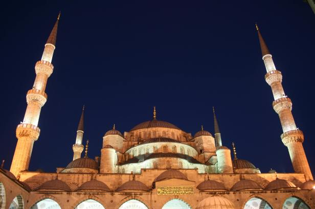 Istanbul Photography, Istanbul Photos, travel photography, Blue Mosque, night, Istanbul