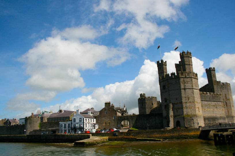 Caernarfon Castle, Caernarvon Castle, travel photography, Wales photography