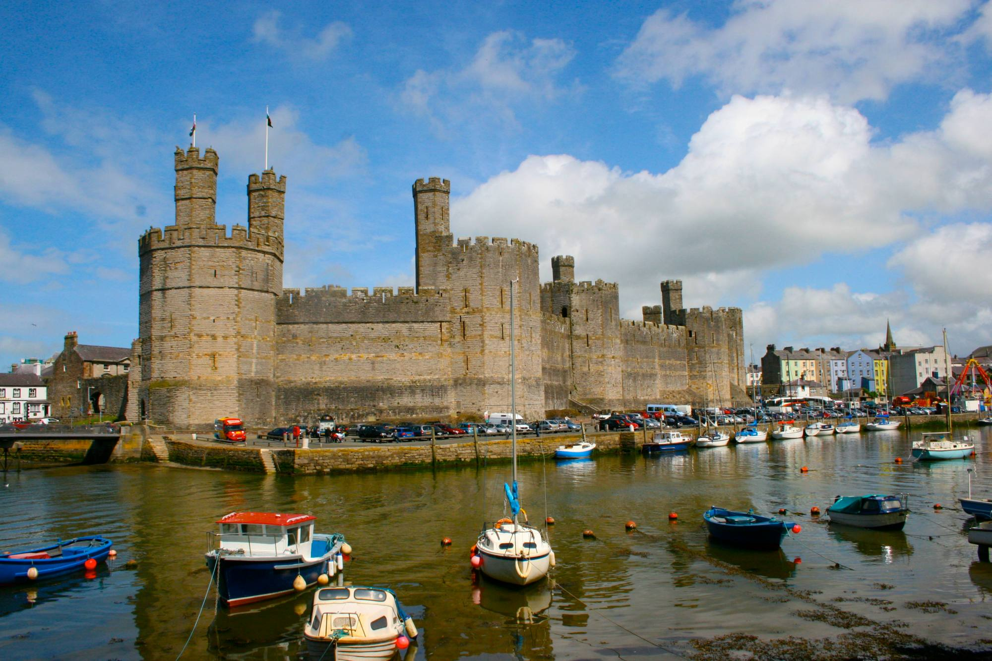 travel photography, Wales photography, castles of wales, Caernarfon Castle, travel photos