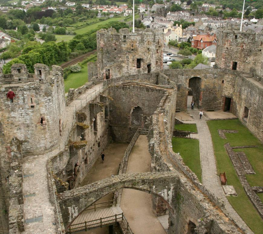 Conwy Castle, Conwy, Wales, north Wales, travel, photography, travel photography, castles of wales
