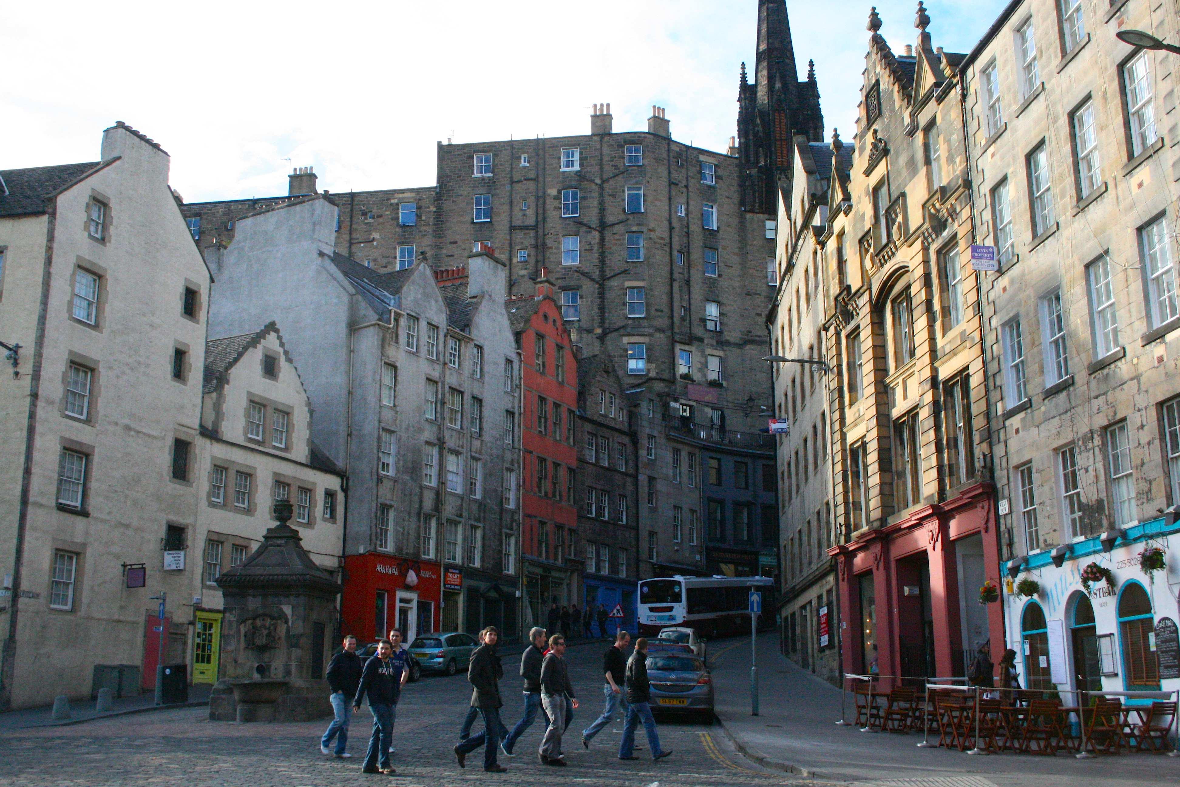 Cheap Grass Market Edinburgh Scotland U Photo A Day Travel Photography Photos With City Street Wallpaper