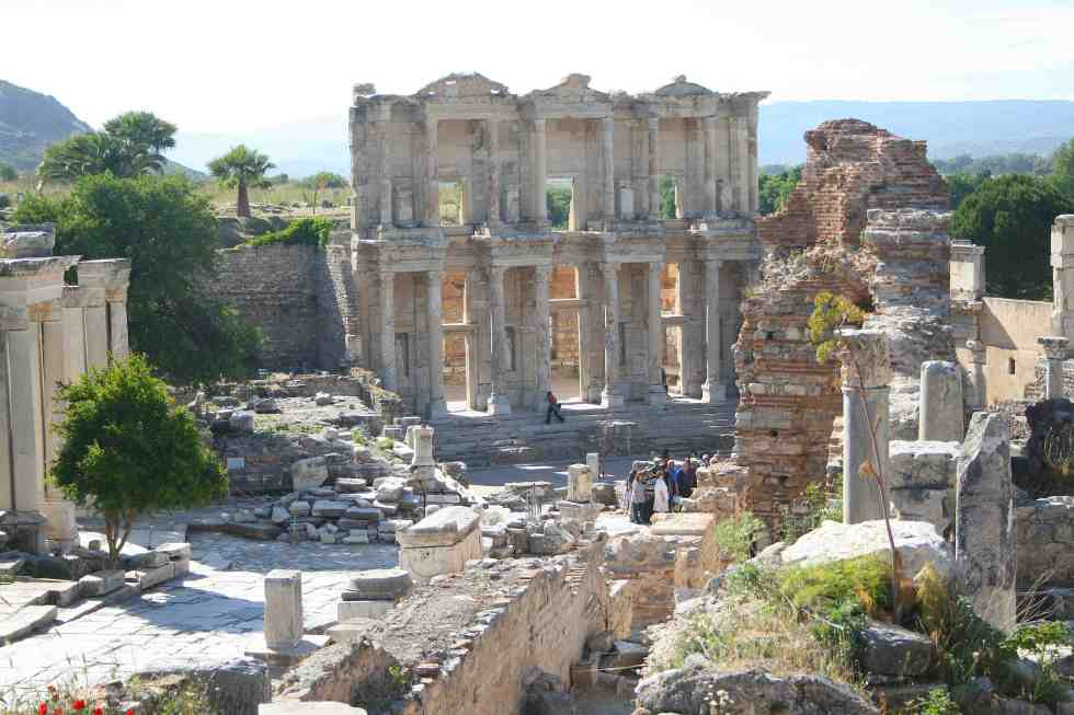 Ephesus, Turkey, Ephesus Ruins, Celsus Library, travel photography, travel photos, ancient city of ephesus
