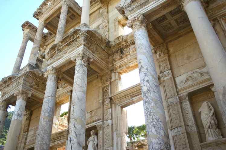 Ephesus, Turkey, Ephesus Ruins, Celsus Library, photography, photos, travel,