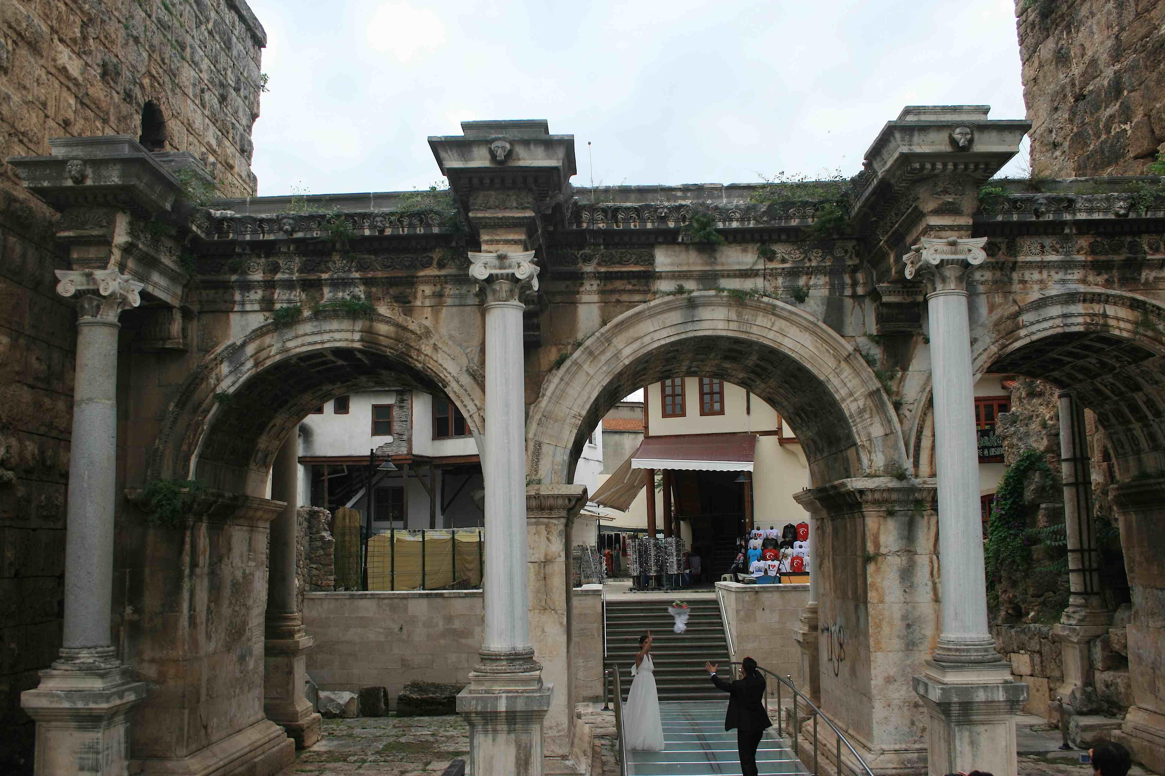 Visit Turkey – Wedding Photography under Hadrian's Gate – Photo a Day – Turke...