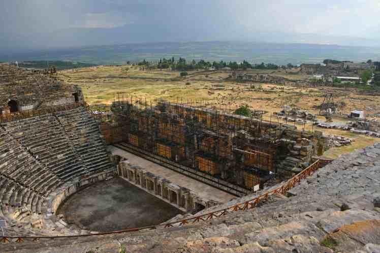 Visit Turkey, Hierapolis Theatre, Great Theatre, travel photography, travel photos