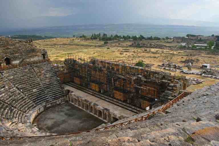 Visit Turkey, Hierapolis Theatre, Great Theatre, travel photography, travel photos
