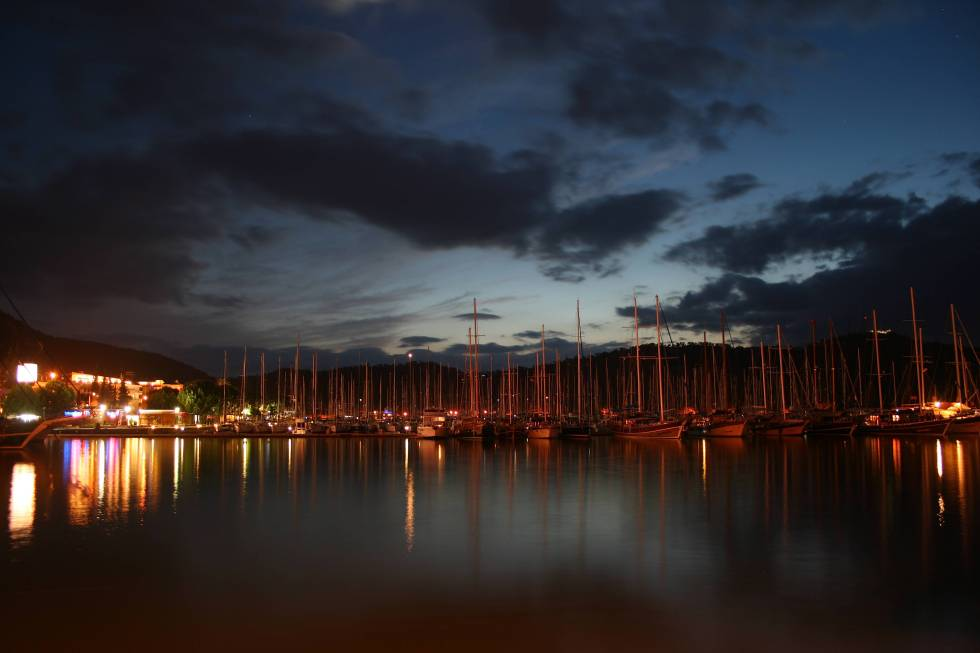 Visit Turkey, Fethiye, Turkey, travel, photography, photos, harbour, night, Aegean Sea