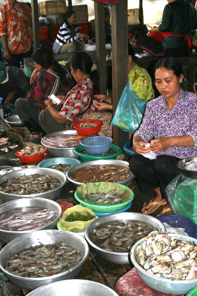 Phnom Penh, Cambodia, travel, photography, photos, Russian Market