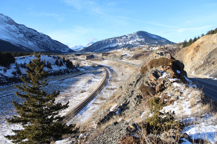 Crowsnest Pass, Alberta, Turtle Mountain, Frank Slide, Crowsnest Mountain, travel, photography, photos