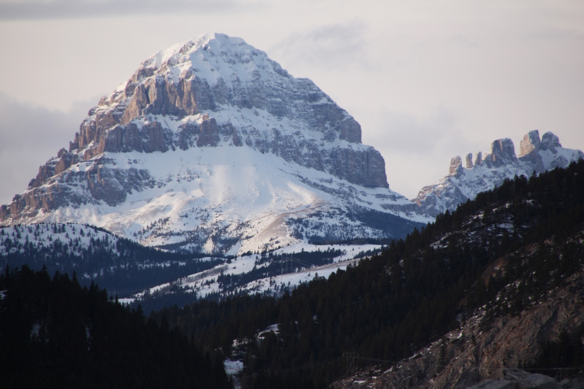 Crowsnest Pass, Crowsnest Mountain, Seven Sisters, travel, photography, photos
