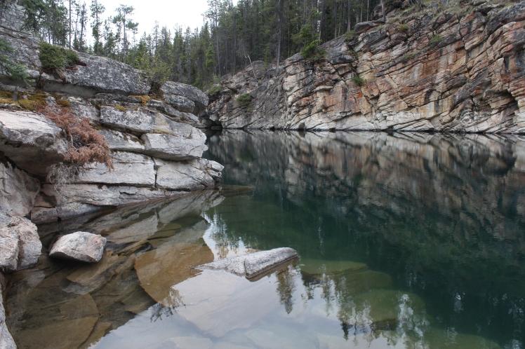 Horseshoe Lake, Jasper National Park, Alberta, photography, travel, travel photos, travel photography