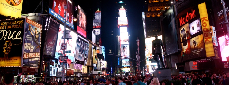 Times Square, New York, Travel Photography