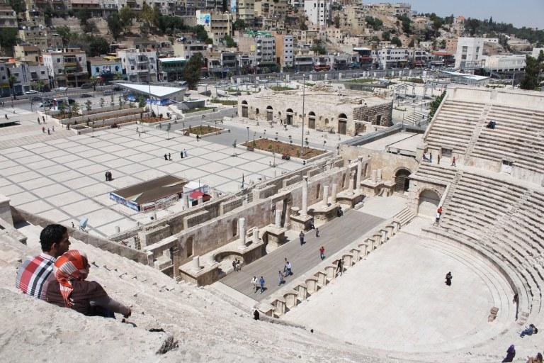 Amman, Jordan, travel, photography, Roman Amplitheatre