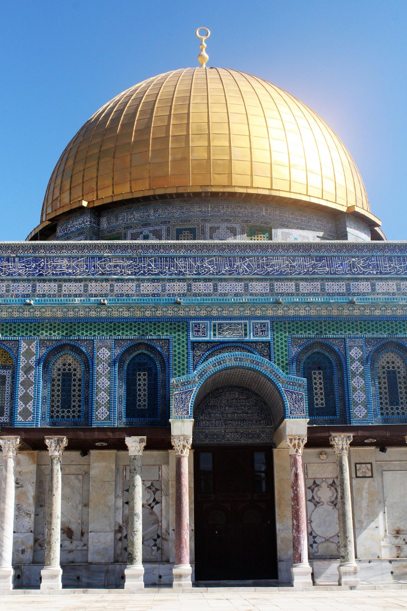 Dome of the Rock, travel, photography, photos, travel photography,