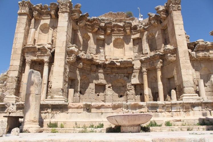 Jerash, travel, photography, photos, travel photography, nymphaeum, Jordan travel photography, Jordan travel photos, Jerash travel photography, Jerash travel photos