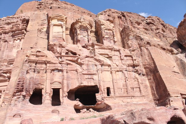 Petra, Jordan, photography, travel, tourism, Petra Jordan, City of Petra, Royal Tombs, Royal Tombs Petra