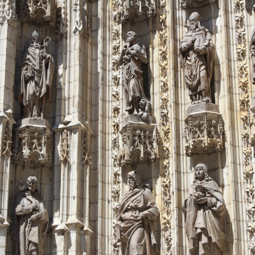 Seville, Spain, travel, photography, cathedral, sevilla