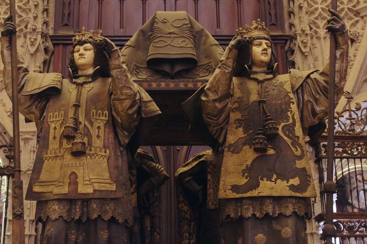 Christopher Columbis, tomb, Seville, Spain, cathedral