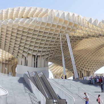 Metropol Parasol, Seville, Spain, architecture, photography, photos