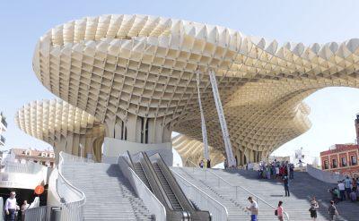 Metropol Parasol, Seville, Spain, architecture, photography, photos