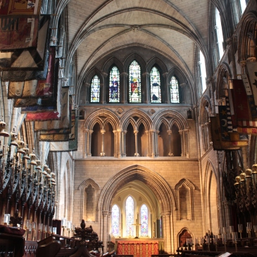 St Patrick's Cathedral, Dublin, Ireland,