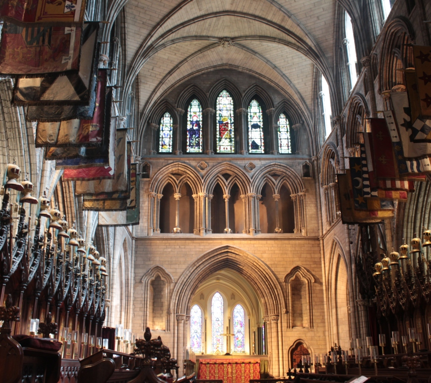 St Patrick's Cathedral, Dublin, Ireland,