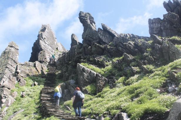 Skellig Michael, Ireland, Island, Stairs, Skellig Michael Ireland, Skellig Michael Island, Skellig Michael Stairs