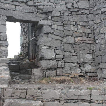 Dun Aengus Stone Fort on Inishmore (Aran Islands)