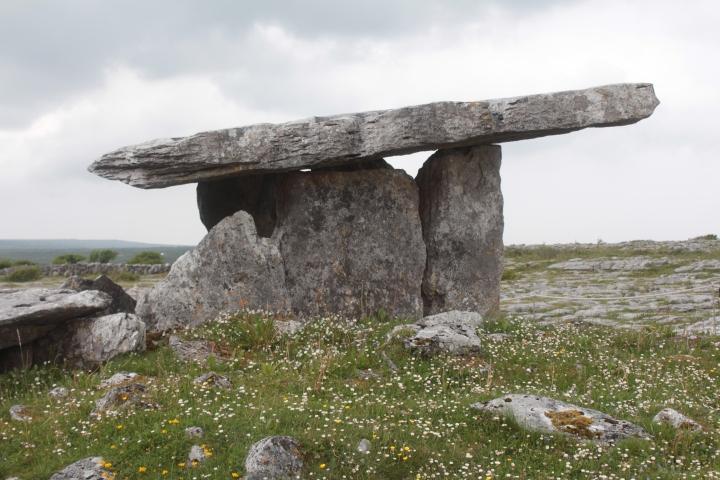 Megalithic Ireland, Poulnabrone Dolmen, Poulnabrone Dolmen Portal Tomb, Ireland, Megalithic, Portal Tomb, Photography, Photos