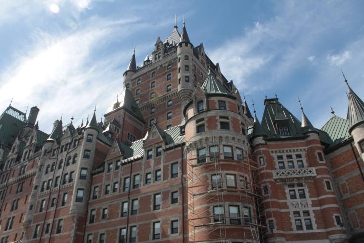 Fairmont Le Chateau Frontenac, Luxury Hotel, hotel, Quebec, Quebec City, Canada