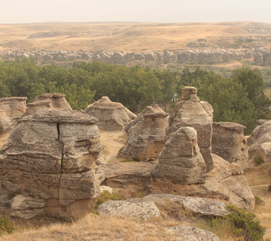 Writing-on-Stone Provincial Park, Alberta, Canada