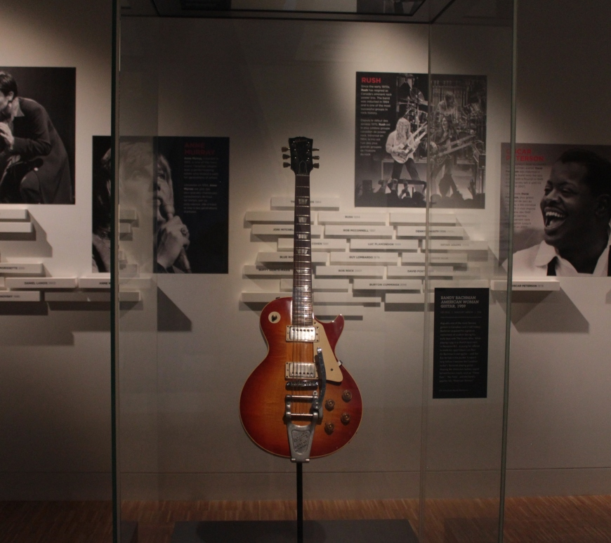National Music Centre, Randy Bachman, American Woman, Guitar, Studio Bell