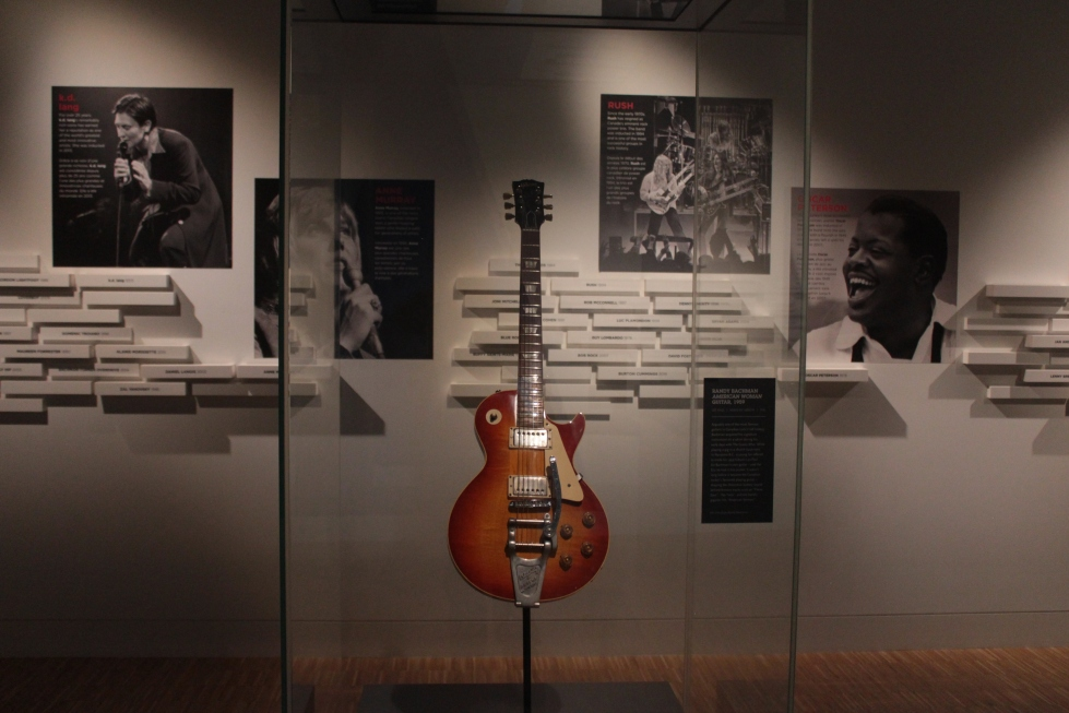 National Music Centre, Randy Bachman, American Woman, Guitar, Studio Bell