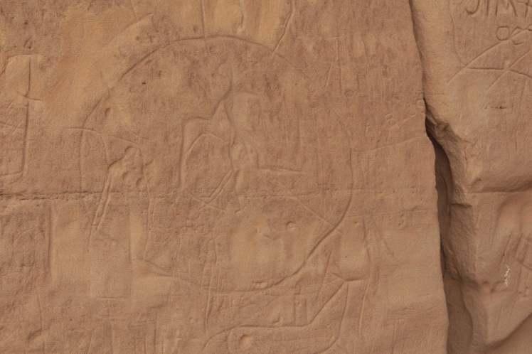 Writing-on-Stone Provincial Park, Writing-on-Stone, petroglyph, Alberta, Canada,