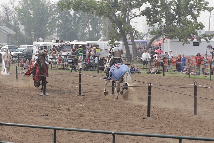 Medieval Jousting Tournament at the Brooks Medieval Faire
