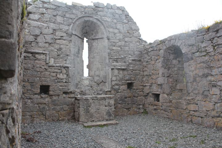 The Aran Islands Inishmore, Medieval Church